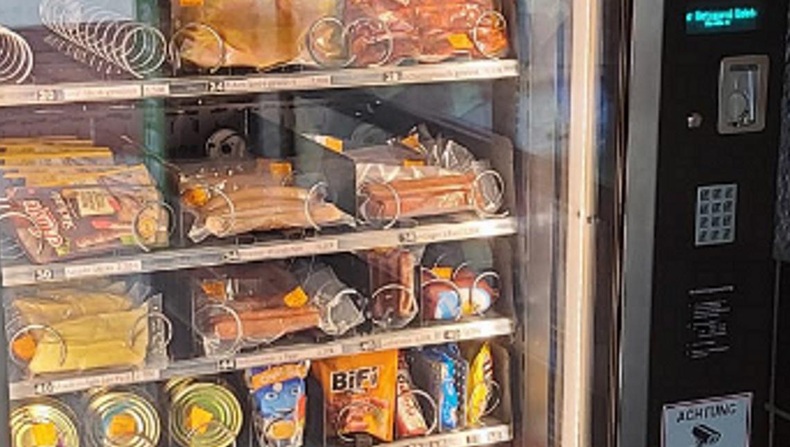 Lebensmittelautomat in Spechbach, © Rhein-Neckar-Kreis